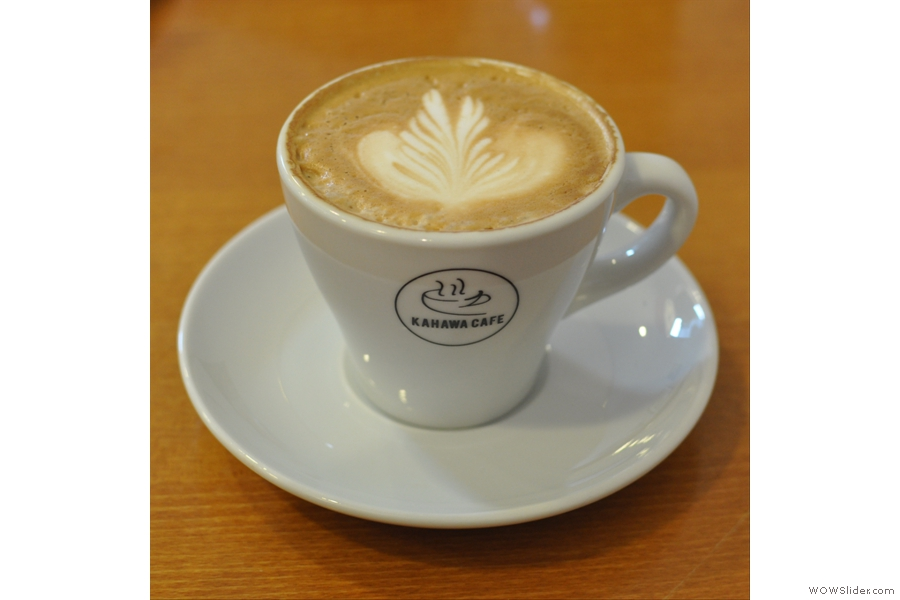 ... talking of which, my flat white was delicious...