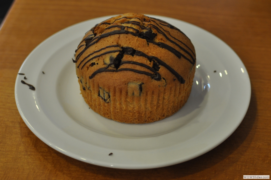 The world's widest muffin?