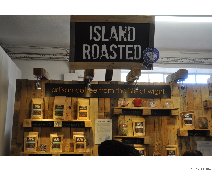 ... who roast coffee down on the Isle of Wight.