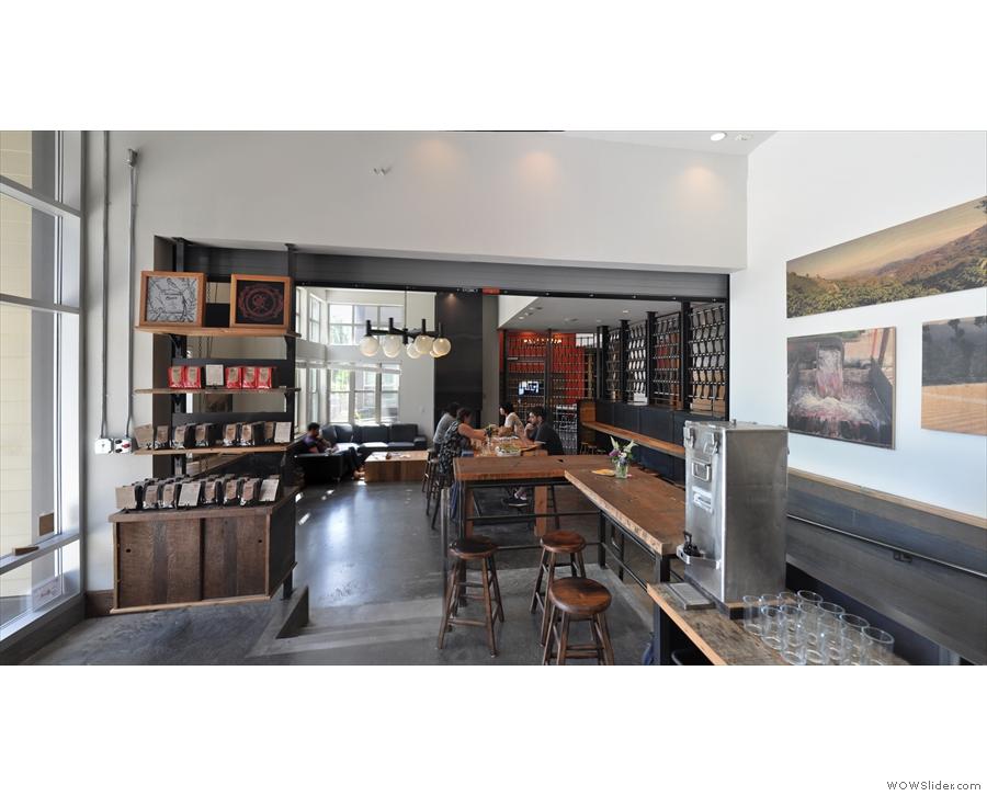 Next stop, the wonderful interior of Coava Coffe Roasters on Hawthorne Bouvelard...