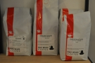More Has Bean: the single-origin on filter, Dark Archer espresso blend & Quiver filter blend.