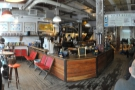 ... but if you want to find the roastery, you need to come in at this end.