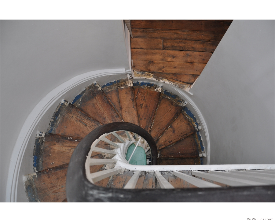 Have I mentioned that I like spiral staircases?