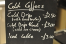 Talking of cold brew, here are the options.