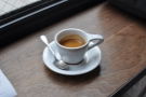 And a very fine espresso. Gasoline Alley is another using classic cups with massive handles.