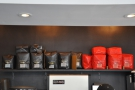 There's also plenty of coffee behind the counter. No danger of Gasoline Alley running out!