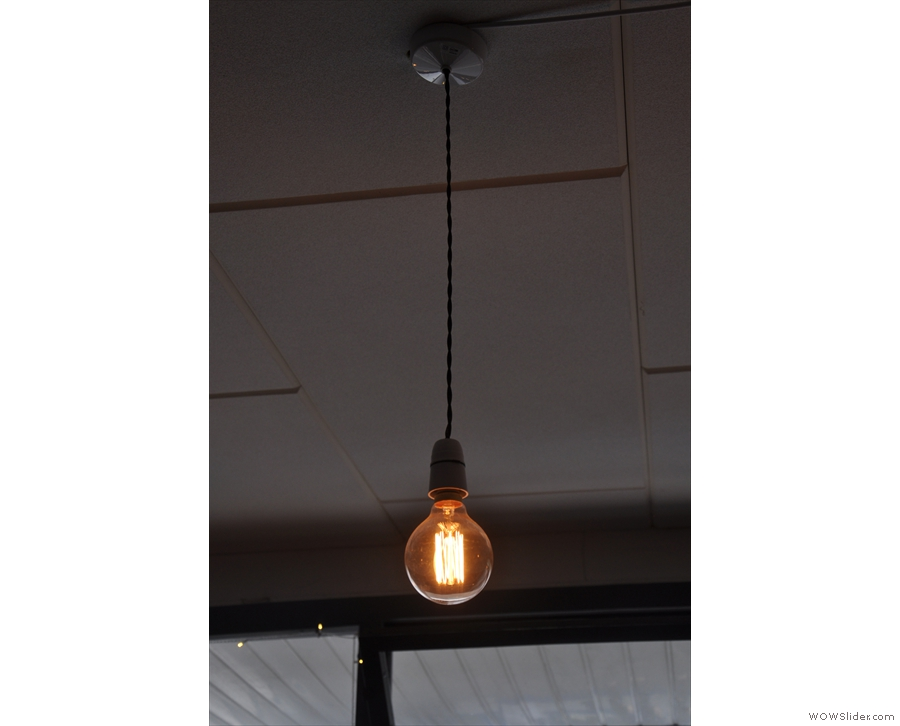 ... to this bare bulb.