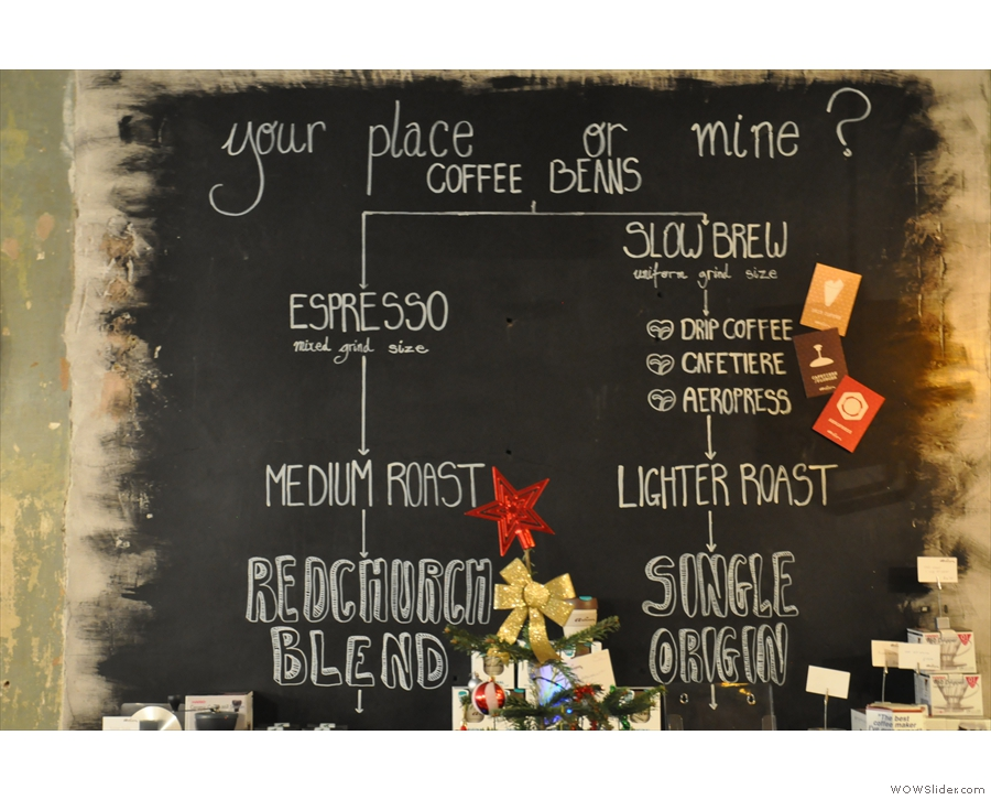 Artisan has this handy little coffee flowchart to help you work out what you need...
