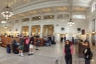I started my trip at Seattle's magnificent King Street Station, where my friend Katie was waiting to meet me. This meant I only had time to take the one picture...