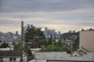 The view from my window of downtown Seattle.