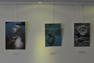The walls are hung with the work of local artists, something I am increasingly seeing in cafes.