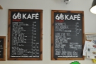 There's a full menu of alternatives though. The piccolo and cortado look tempting...