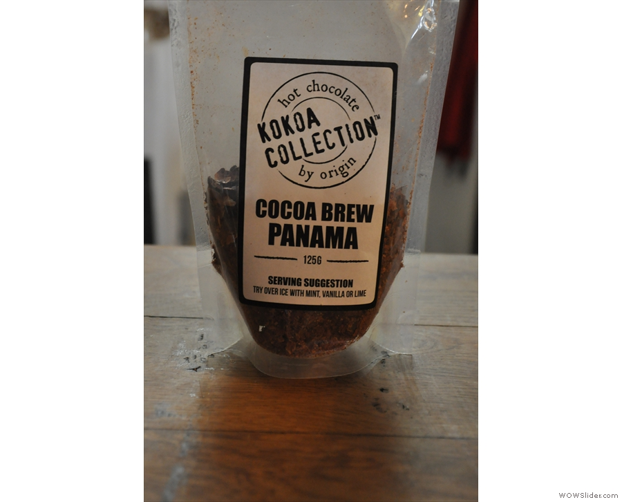 ... hot chocolate from Kokoa Collection.