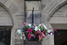 The hanging baskets are a nice touch.