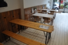 ... and, looking from the back towards the front, a couple of more conventional tables.
