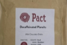 The first of three Brazilian decafs, this one from mail-order specialists, Pact.