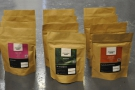 Ancoat's range, with the amazing El Triangulo Guatemalan decaf front and centre.