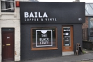 Baila Coffee & Vinyl, almost at the top of the hill on Victoria Road in Swindon.