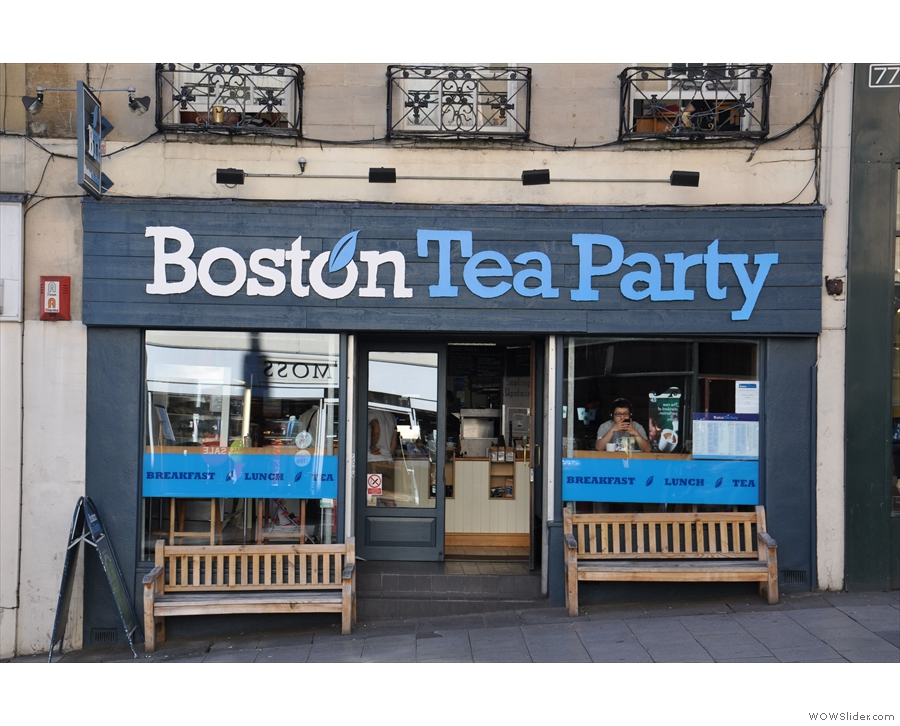 The Boston Tea Party, Park Street, where it all began, from 2012.