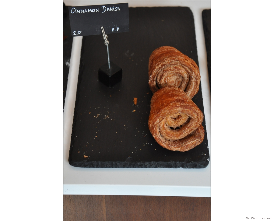 ... of which, the Cinnamon Danishes took my eye.
