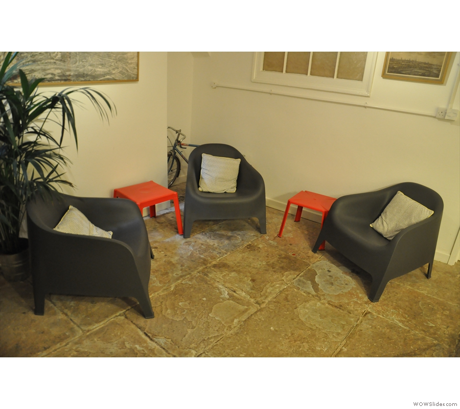 ... and these three comfortable chairs.