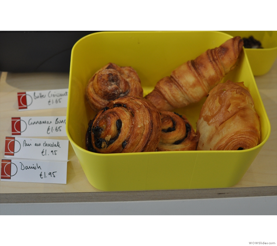And pastries...