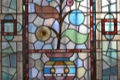 Along with this glorious stained-glass window...