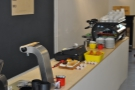The well-laid out and uncluttered counter... Well, it had only been open for two days when I visited!