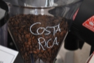 The aforementioned Costa Rican filter of the day was in the second hopper.