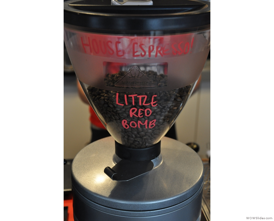The Little Red Bomb house blend...