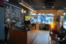 The view from the annex. While the right-hand side's dominated by the counter...