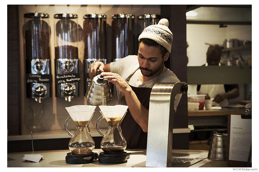 Allpress Coffee Course