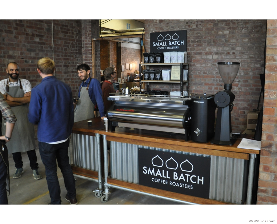 And across from them, from even further afield, it's Brighton's Small Batch!
