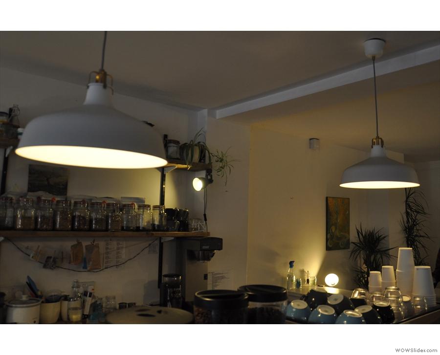 July: Anything but dark. Darkroom Espresso, Swindon.