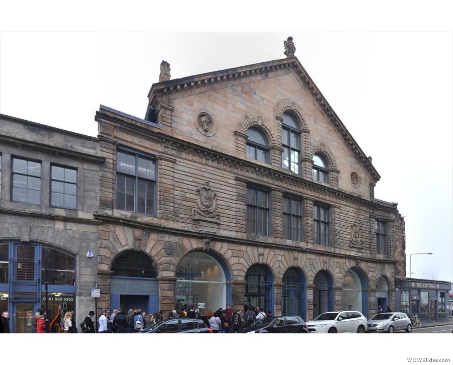 A brisk walk from the station saw me at the Briggait, home of the Glasgow Coffee Festival.