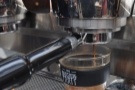 A good barista watches the extraction at all times (not takes photos of it!).