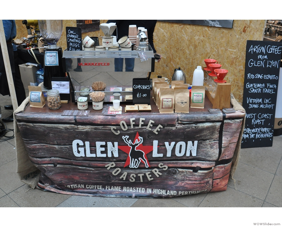 It's Glen Lyon, from Glen Lyon. In the Highlands. Scotland. With a Scottish roaster. I win!