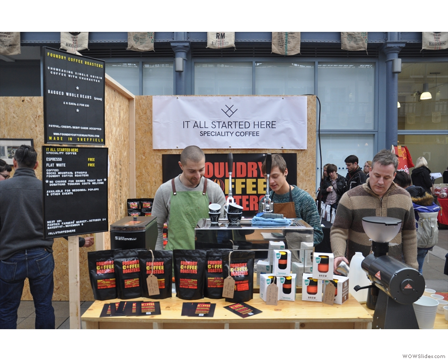 The only stall that was more popular was this one: the Foundry/It All Started Here stall.