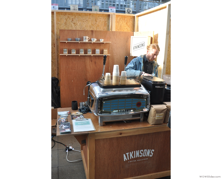 Talking of lever espresso machines, over to J Atkinson & Co to drool over the Faema E61!