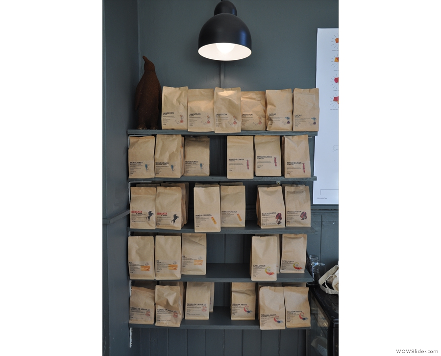You can buy bags of any of Artisan Roast's considerable output of single-origins or blends.