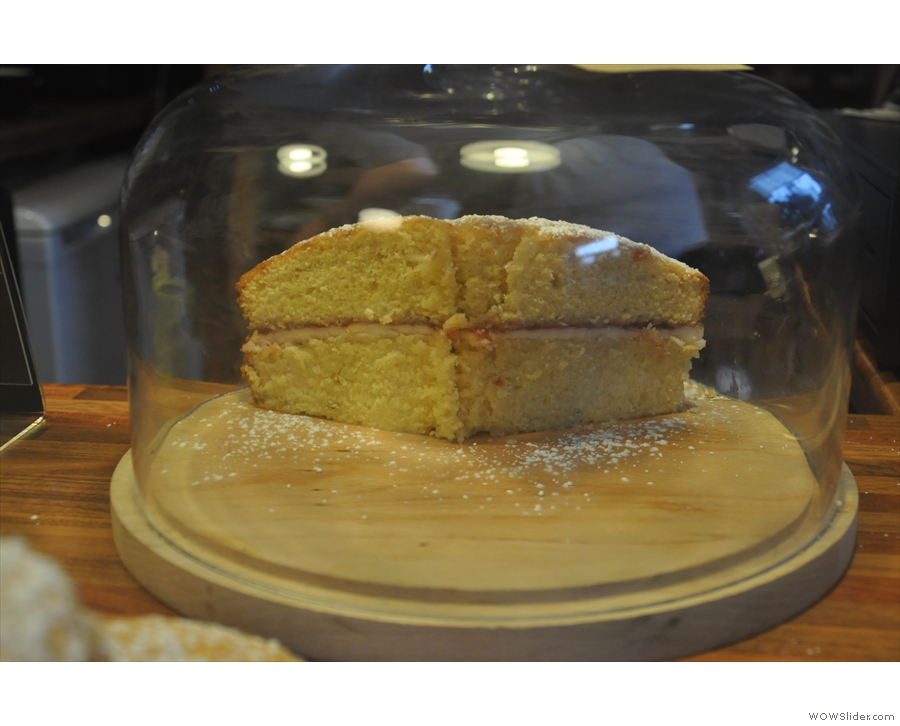 Is it me, or is the Victoria Sponge smiling at me?