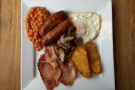 Finally, my friend Jeff (who is American) had the full English. As you do.
