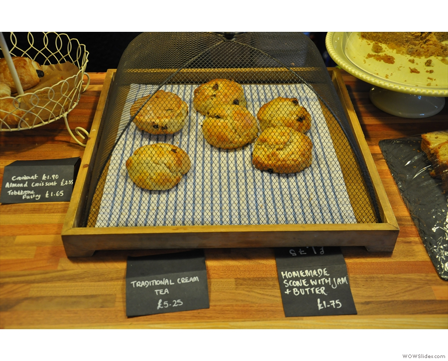 Back in 2013, the scones were so fierce that they had to be kept in a cage...
