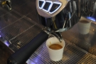 And at 27 seconds, I hit the off button! No milk this time, just espresso.