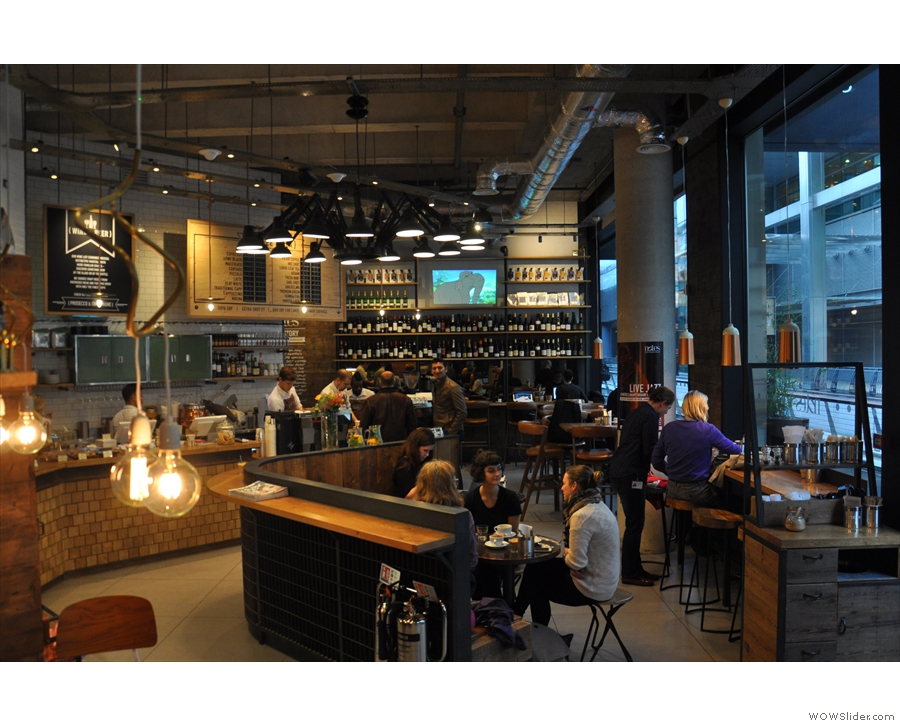 notes crossrail place canary wharf brian 39 s coffee spot