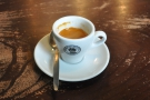 ... and on my return, this lovely, fruity espresso.
