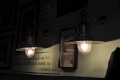 Although small, Jika Jika does not disappoint on the light-fittings front.