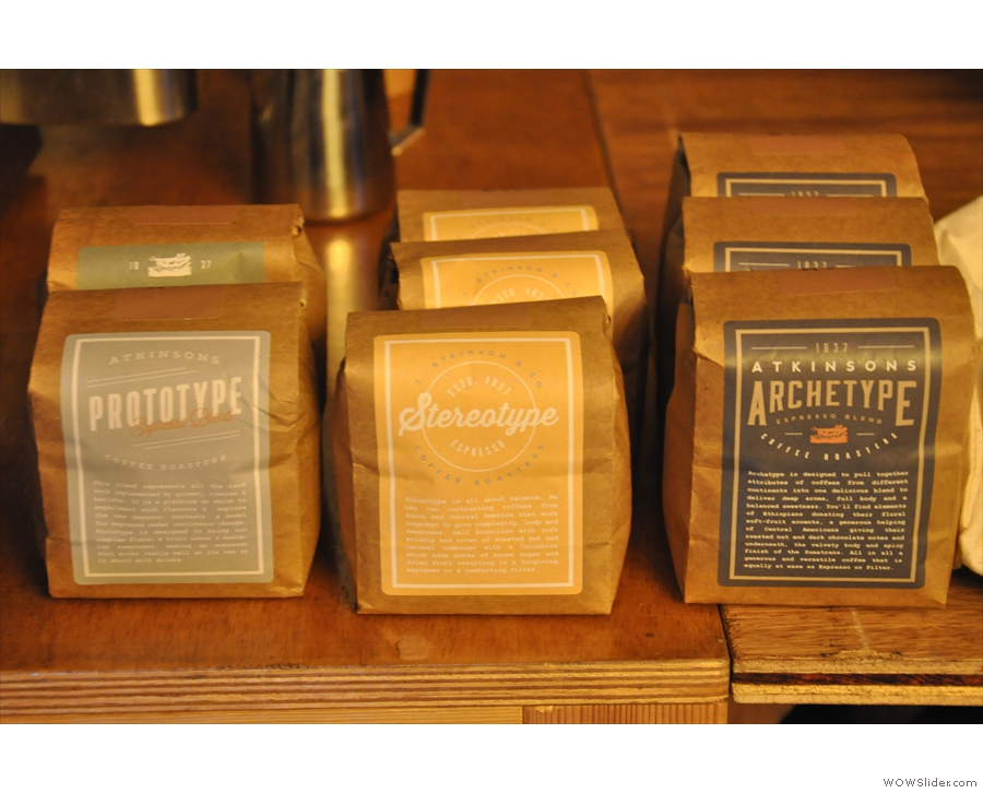 Espresso, anyone? The Prototype, Stereotype & Archetype blends. Do I detect a theme?
