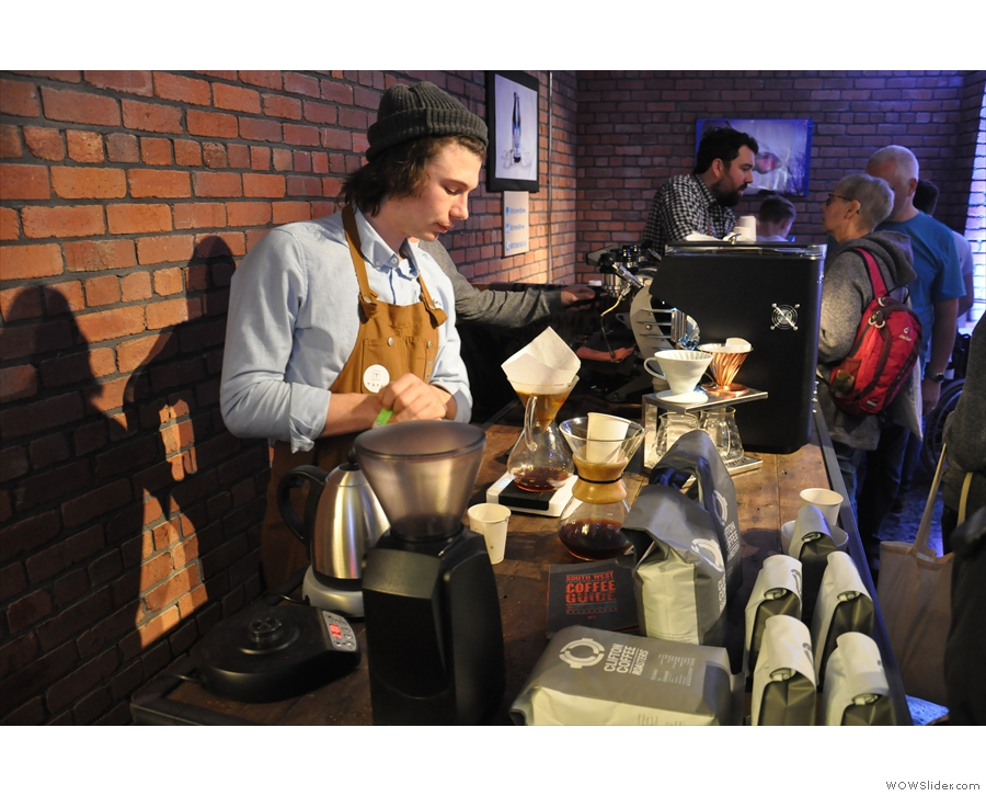 The Clifton/TAKK combo also had the Chemex thing going as well.