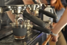 I never tire of watching espresso extract.